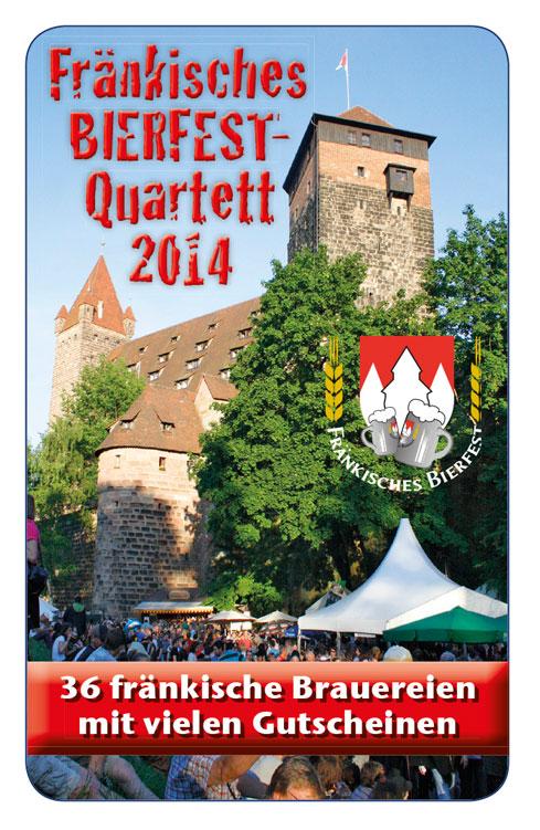 Neu von den Machern der Kneipenquartette: Fränkisches Bierfest Quartett 2014